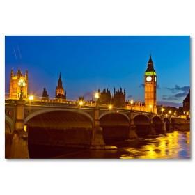 Αφίσα (Αγγλία, Λονδίνο, Large, TowerBridge)
